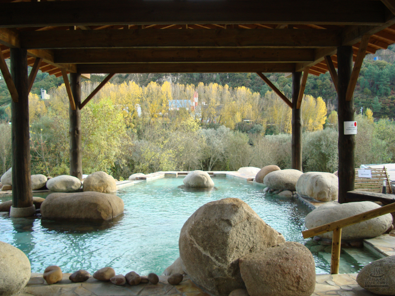 Traditional hot springs