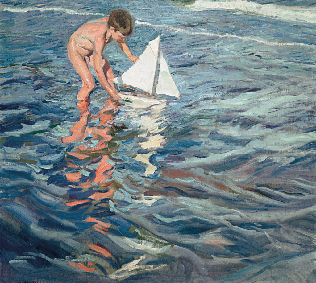 MADRID_MUSEO SOROLLA_Niño con barco_BAJA
