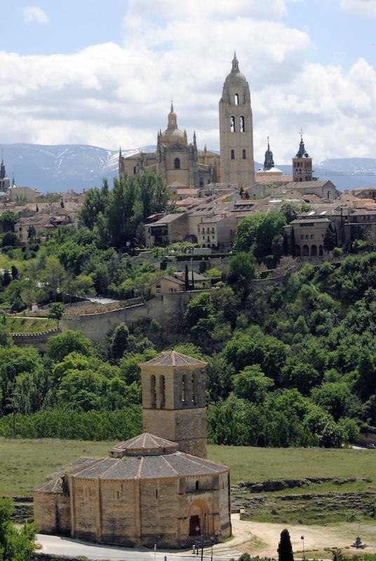 SEGOVIA_Veracruz y Catedral Turismo Segovia BAJA