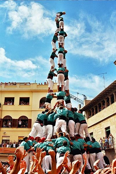 Old traditions: the Castells